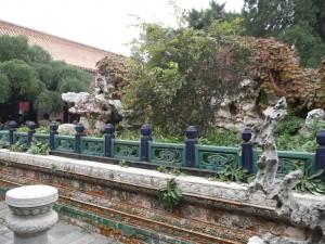 Jardin dans la Cité Interdite